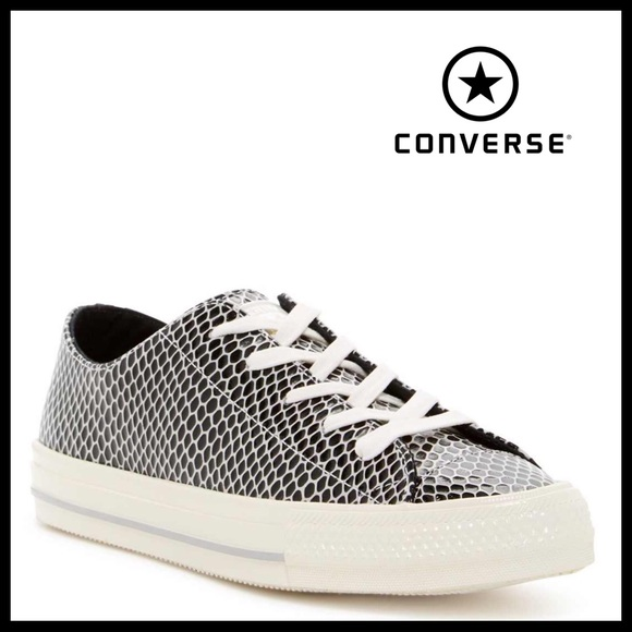 b85d48faa205 ❗️6-HOUR SALE❗️CONVERSE LEATHER LOW TOPS SNEAKERS